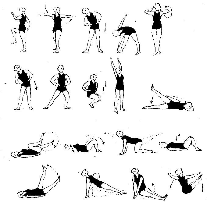 Гимнастика во время беременности. 17-31 неделя